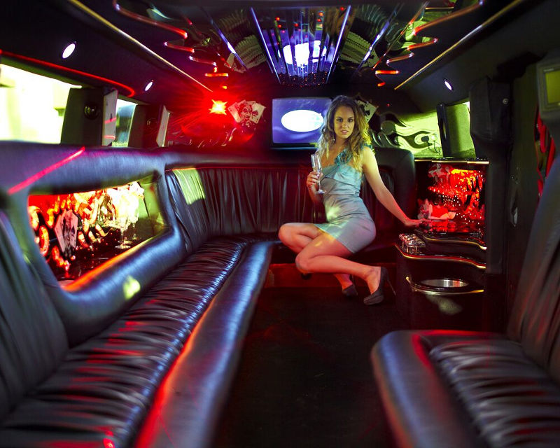 Hummer H2 stretch Limo SUV | 18 passengers | (239) 645-4878