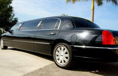 black presidential Limo Fort Myers