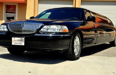 lincoln limo front