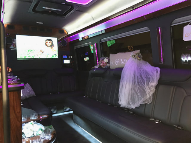 fort myers wedding limo